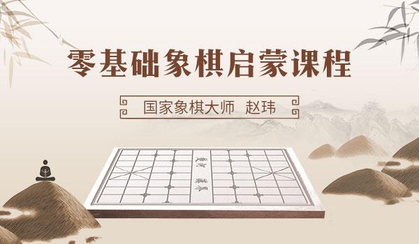零基础象棋启蒙课程(5-12岁小朋友足不出户学象棋)
